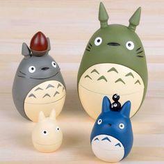 My Neighbor Totoro Russian Dolls #myneighbortotoro #totoro #anime #merch…