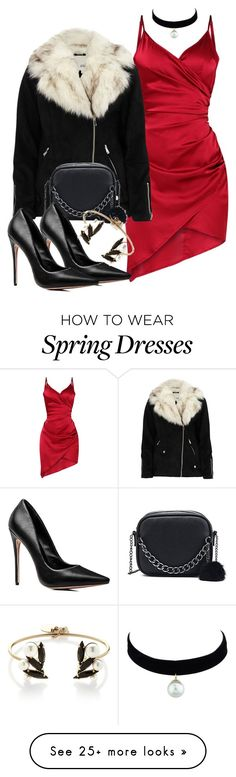 """""""Day 11 of Christmas (2017)"""" by demiwitch-of-mischief on Polyvore featuring River Island and Anton Heunis"""