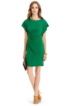 DVF Jenna Silk Shift Dress http://on.dvf.com/1LBqwt3