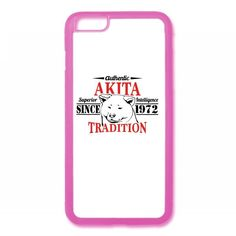 Authentic Akita Tradition iPhone 6/6s Rubber Case
