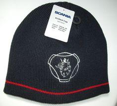 Genuine Scania Griffin Logo Navy Truck Beanie Cap Hat One Size Men s Mens New