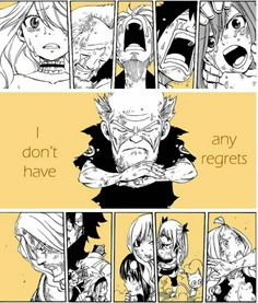 aww It's sad that he'd dead, but at the same time I'm happy Hiro Mashima killed someone off. It gives their situation more realness. at least in my opinion. Fairy Tail Sad, Image Fairy Tail, Fairy Tail Quotes, Fairy Tail Gruvia, Fairy Tail Family, Fairy Tail Couples, Fairy Tail Anime, Fairy Tales, Manga