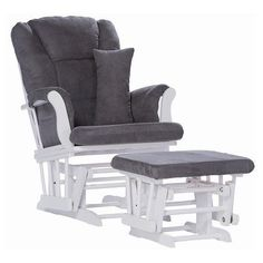 Rocker Glider Ottoman Chair Rocking Baby Nursery Furniture Smooth Comfort Sleep #Storkcraft