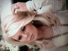 Gretchin Rossi hair. Love her style..
