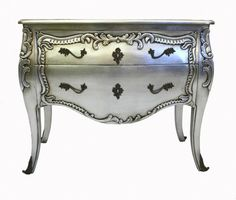 silver drawer chest $1195