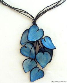 Ожерелья из кожи - идеи для изготовления своими руками