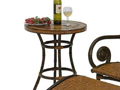 Leaders Casual Furniture - Tahiti Round Tea Table, $239.99 (http://www.leadersfurniture.com/products/tahiti-round-tea-table.html)