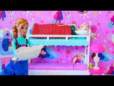 How to Make a Cute LPS Bedroom for Boy or Girl: Dollhouse DIY - YouTube