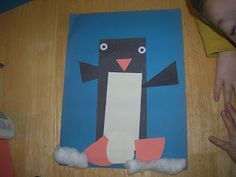 Show-and-Share Saturday: Penguin Shape Art - I Can Teach My Child!