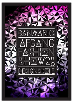 IDENTITY FOR DKDS FASHION SHOW 2011 by Thomas Blankschøn, via Behance