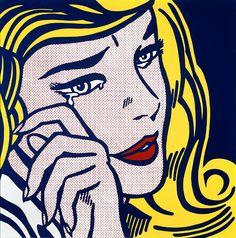 Roy Lichtenstein - Crying Girl, 1964.