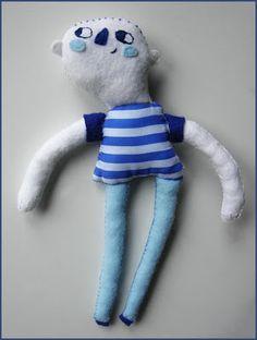 Niño hecho a mano  happyplushplush.blogspot.com.es