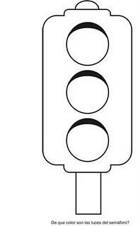 verkeerslicht verkeer kleurplaten transportation
