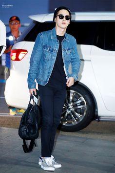 150920: EXO Suho (Kim Joonmyun) | Incheon Airport to Fiji Airport