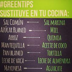from: thegreenpost. consume productos menos procesados, tu cuerpo te lo agradecera. empieza ahora!!!