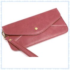 STRAP THIS WRISTLET OR HANDLE IT UR CHOICE HP ,USE AS A CLUTCH WALLET OR USE THE STRAP EITHER WAY THIS WORKS Bags