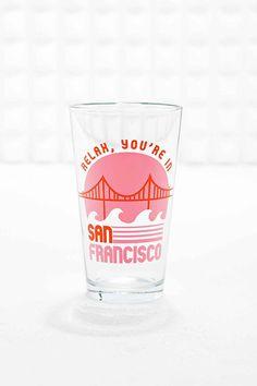 """""""San Francisco"""" Pint-Glas"""