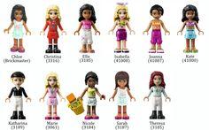 Friends Bricks   Mini-Dolls