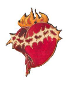 El Sagrado Corazon by Lynn Garlick. American Made. See the designer's work at the 2016 American Made Show, Washington DC. January 15-17, 2016. americanmadeshow.com #americanmadeshow, #americanmade, #elsagradocorazon