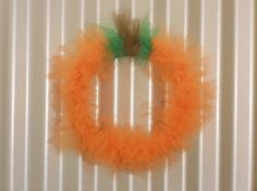 Check out this item in my Etsy shop https://www.etsy.com/listing/463218956/pumpkin-wreath
