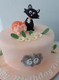 60th Birthday Cakes, Desserts, Food, Tailgate Desserts, Deserts, Essen, Postres, Meals, Dessert