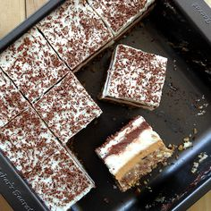 *ahem*... Paleo Sex in a Pan (Paleo six layer bars with chocolate, cream, and custard) OMG Copeland! Doesn't it sound yummy!?