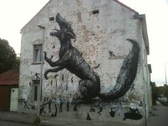 STREET ART UTOPIA » We declare the world as our canvasstreet_art_june_11_sick_roa » STREET ART UTOPIA