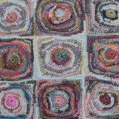 Sophie Digard crochet Scarf, Laetitia - Selvedge