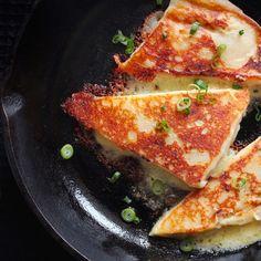 Gluten-Free Cheddar-Scallion Potato Scones