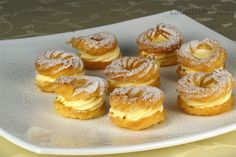 Muj ty Boze - chut detstvi.........Žloutkové věnečky Healthy Diet Recipes, Mexican Food Recipes, Sweet Recipes, Snack Recipes, Cooking Recipes, Czech Desserts, Cookie Desserts, Eastern European Recipes, Czech Recipes