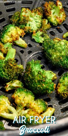 Fried Broccoli, Broccoli Recipes, Air Fryer Dinner Recipes, Air Fryer Recipes, Side Recipes, Great Recipes, Best Side Dishes, Food Dishes