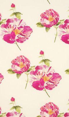 014 Floral Print | Pink
