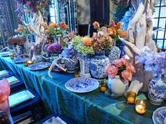 MySweetCharity Photo Gallery Alert: Kappa Tablescapes