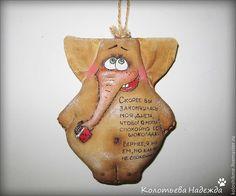 Купить Слоняши кофейные - коричневый, примитив, примитивная игрушка, примитивы, позитив, позитивный подарок