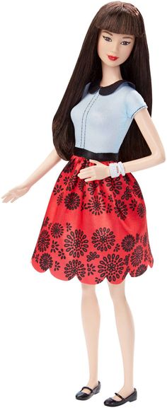 Barbie® Fashionistas™ Doll 19 Ruby Red Floral - Original