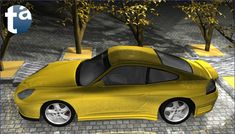 504 - TAEVision 3D MechanicalDesign Automotive Porsche 996 ... Reflections, Lights and Shadows PORSCHE 996 ... Porsche996 (C View Side) Dr. Ing. h.c. F. Porsche AG
