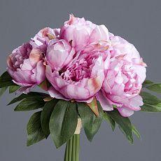 Buchet bujori artificiali  roz - 35 cm