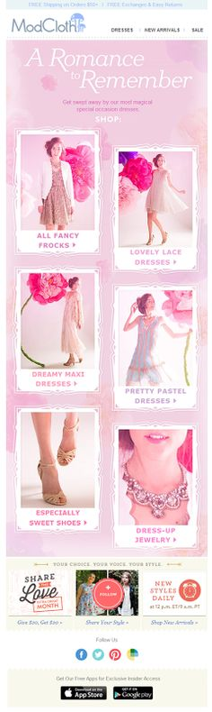 Modcloth special occasion what to wear email 2014