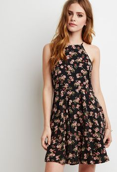 Floral Dress | Lydia Martin Style Guide << ooh you could even throw a flannel over this and combat boots
