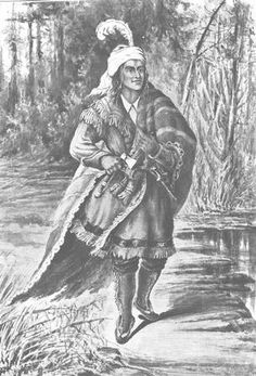 Native American Indian Pictures: Shawnee Prophet Tecumseh Paintings and Images