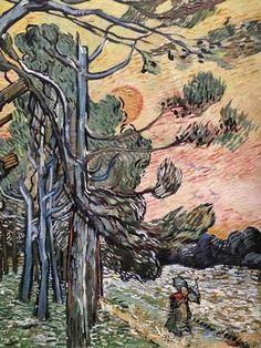 Post Impressionism, Impressionist, Artist Van Gogh, Van Gogh Paintings, Photo Tree, Vincent Van Gogh, Famous Artists, Artworks, Moose Art