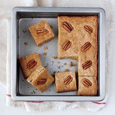 Whole-Grain Pecan Blondies - Easter Cookies - Cooking Light