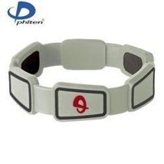 7c90dc0301e2 Phiten Titanium Bracelet - Renegade - Grey - 6.75in
