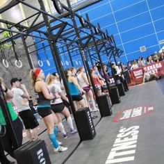 Work out five, 20 double unders and Snatch ladder. In the line up praying my quads will let me get under the bar :) Crossfit Regionals, Lineup, Ladder, Pray, Let It Be, Workout, Stairway, Work Out, Ladders
