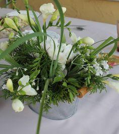 Christening/flowers arrangement by LINA