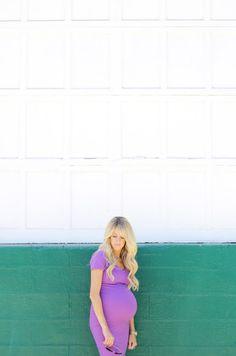 ee2b4e5e9bc7e Non-maternity purple dress Maternity Fashion, Maternity Style, Mobile Web, Purple  Dress
