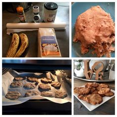 """SPECULAAS KOEKEN Sonja Bakker Dit is het recept van voor """"gezonde"""" speculaas koeken die gemaakt zijn van kokosmeel en banaan.Bananen zijn ideaal als zoetmiddel, de koekjes zijn namelijk heerlijk zoet zonder slechte suikers! Ingrediënten:... 2 rijpe bananen 75 gram kokosolie 70 gram kokosmeel 1 eetlepel speculaaskruiden 1 theelepel zeezout Bekijk deze video op YouTube: http://youtu.be/KGaCabVxvP0 Lekker smikkelen, liefs Sonja."""