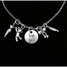 Lost Girl Peter Pan Neverland Inspired Charm by byAmandaJane Engraved Jewelry, Engraved Necklace, Silver Pendant Necklace, Collar Necklace, Silver Necklaces, Necklace Charm, Jewelry Necklaces, Silver Earrings, Nameplate Necklace