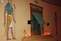 Decor detail-Egyptian Theater in downtown Boise.  Opened in 1927
