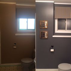 Before & After- Downstairs Bathroom Makeover